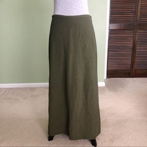 Eileen Fisher Linen Blend Skirt Size XS
